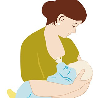 woman-breastfeeding-child